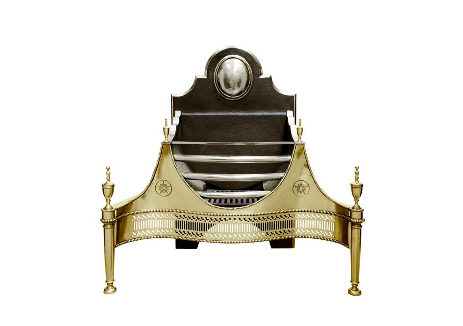 Croome Brass Fire Basket