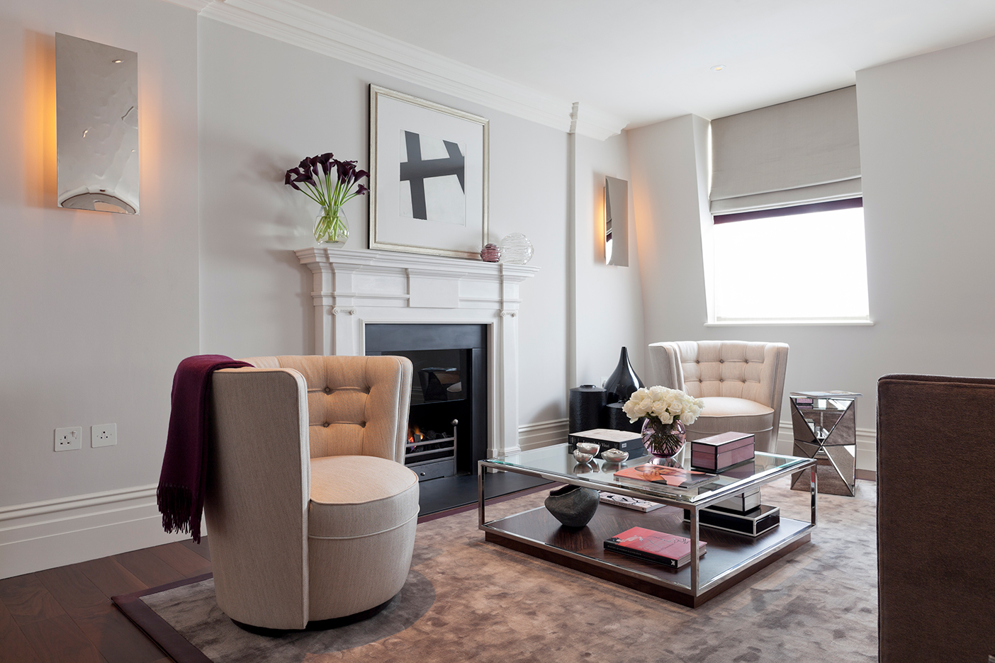 , Expert advice on size and style of fireplaces