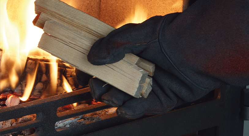 , How to use a wood burning stove