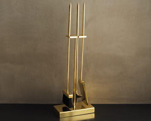 Mercer tool set Polished Brass