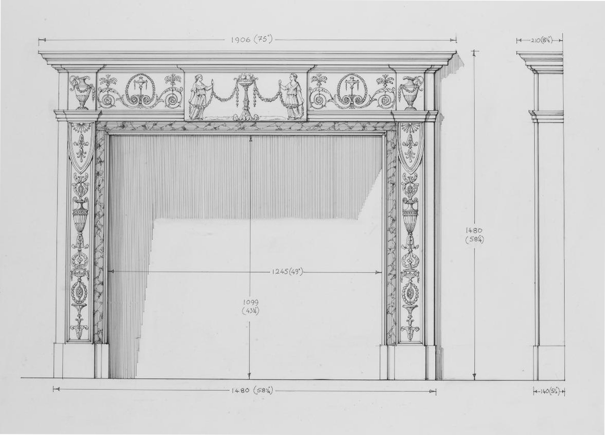 , Directory of Mantelpieces
